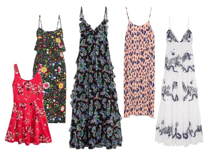 H&M, Victoria Beckham, MSGM, Zara, Roberto Cavalli