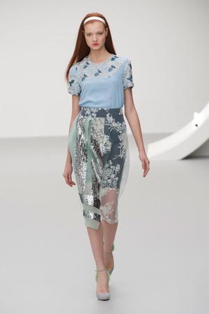 Показы мод Michael van der Ham Весна-лето 2013 | Подиум на ELLE - Подиум - фото 1164
