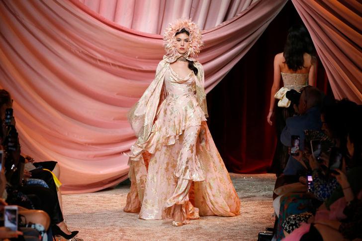 Побег из Самарканда: показ Ulyana Sergeenko Couture в Париже (фото 14)