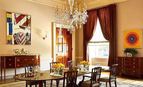 Как выглядят апартаменты президентской семьи в Белом доме? | галерея [2] фото [3]