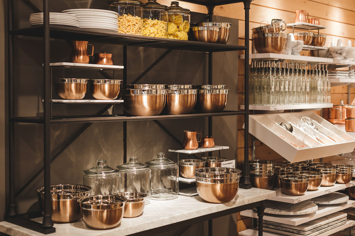 Crate and Barrel открывает новый магазин в Москве