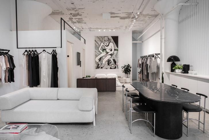 Шоу-рум Lunya как квартира в Бруклине (фото 4)