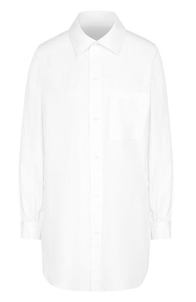 5 способов носить белую рубашку-оверсайз (галерея 8, фото 0)