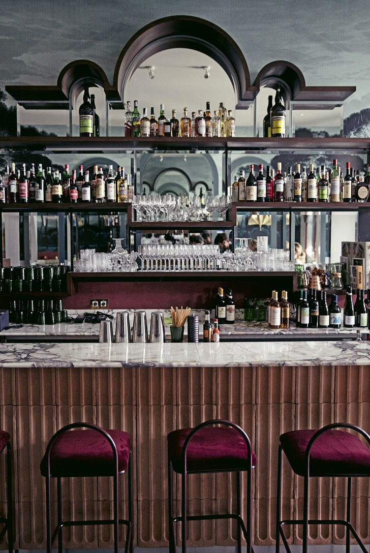 Ресторан Adriatica по дизайну Доротеи Мейлихзон в Венеции (фото 9)