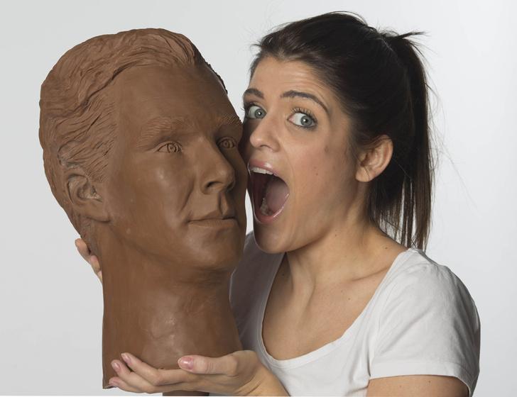 Бенедикт Камбербэтч в шоколаде