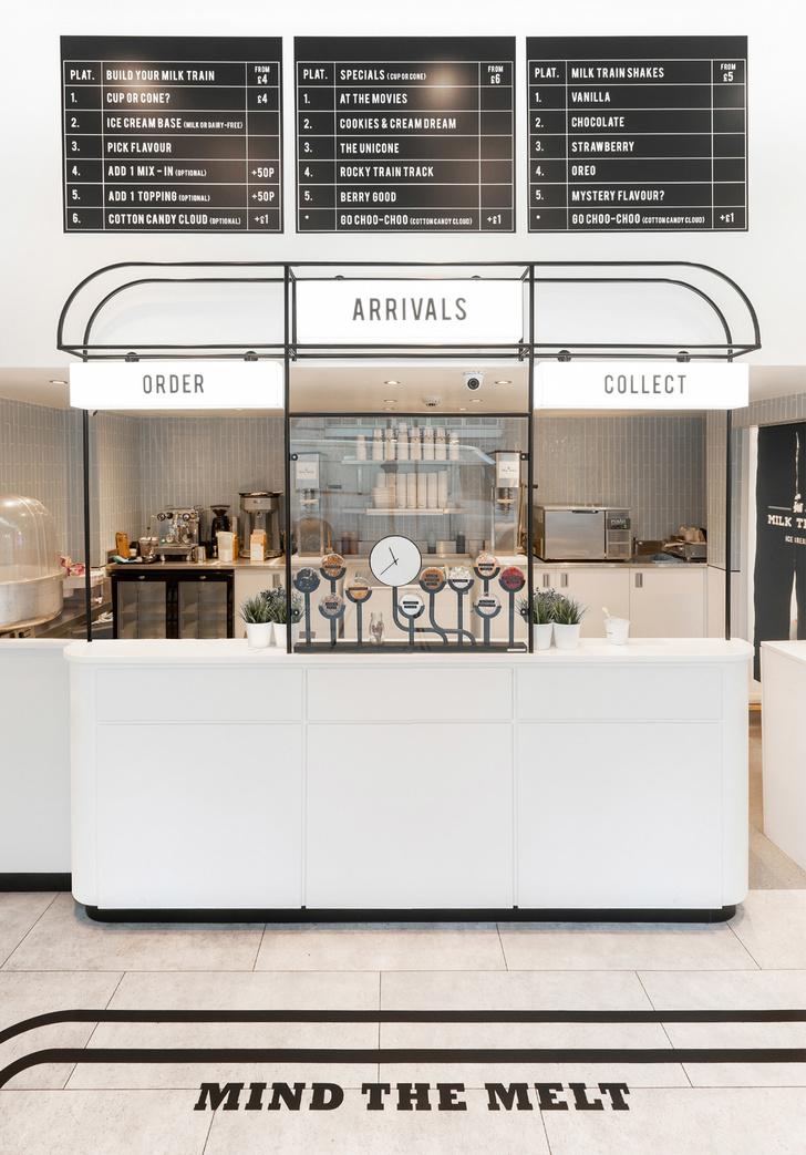 В добрый путь: кафе-мороженое Milk Train (фото 2)