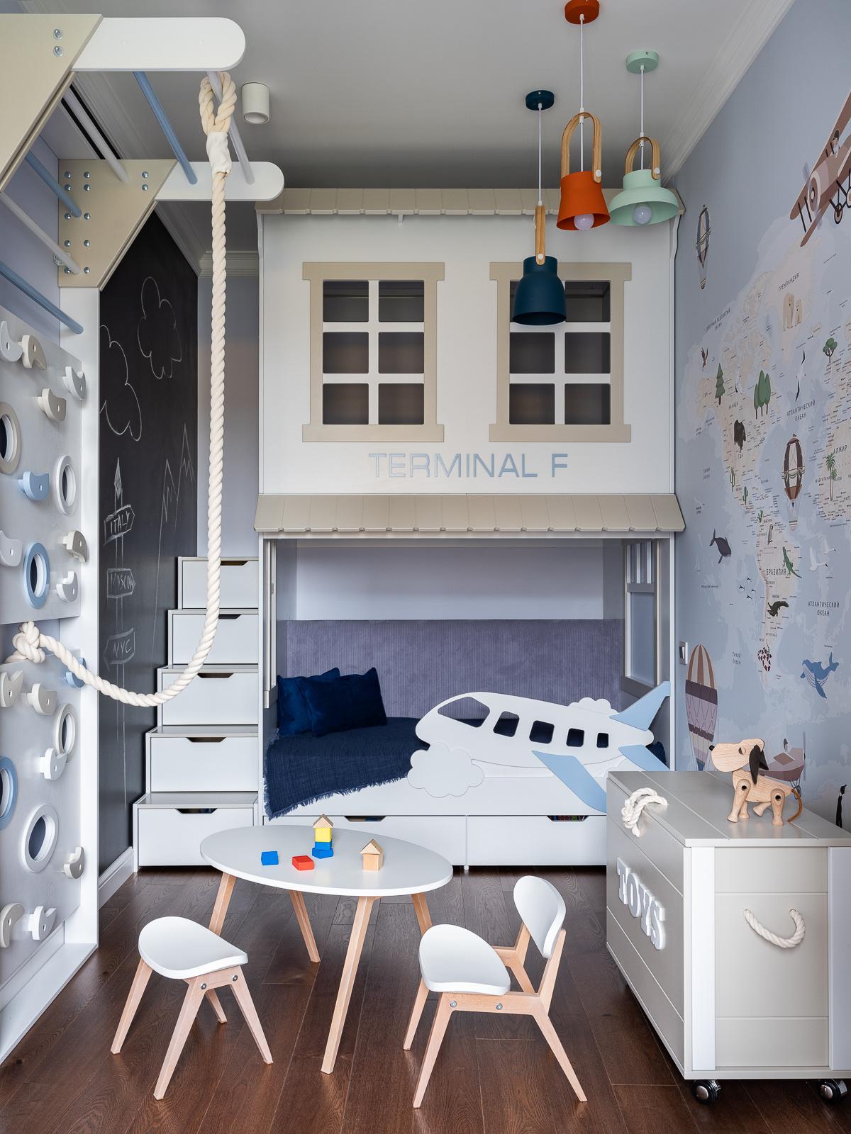 Детская комната: 20+ вдохновляющих примеров (галерея 1, фото 0)