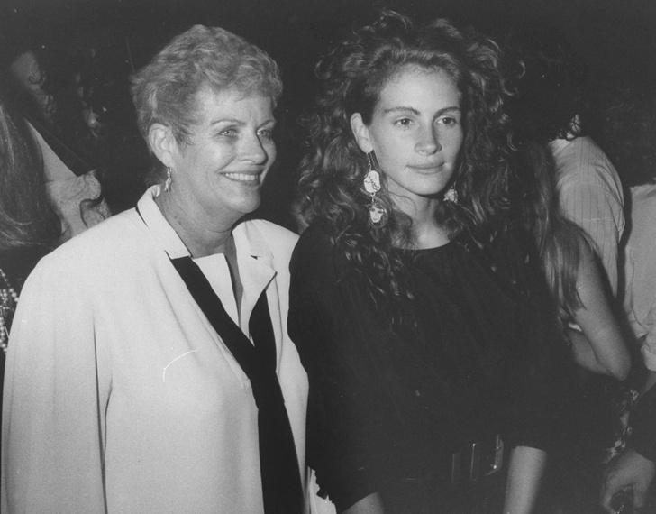 Джулия Робертс с мамой