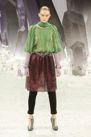 Показ  коллекции сезона Осень-зима 2012-2013 года Prêt-à-porter - www.elle.ru - Подиум - фото 385393