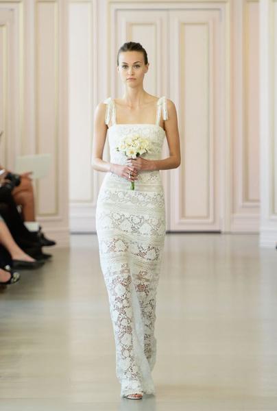 Дом Oscar de la Renta представил новую свадебную коллекцию | галерея [1] фото [3]