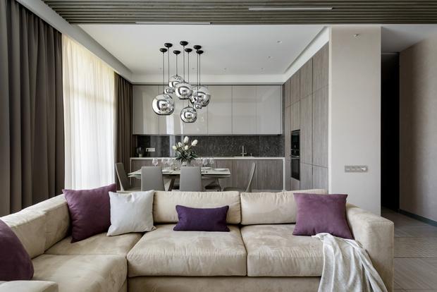 Современная квартира 176 м² в Новосибирске (фото 0)