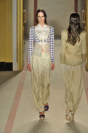 Показы мод Paul Smith Весна-лето 2009 | Подиум на ELLE - Подиум - фото 3388