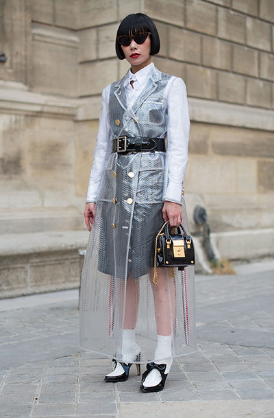 How to dress in the rain: | gallery [1] photo [4]