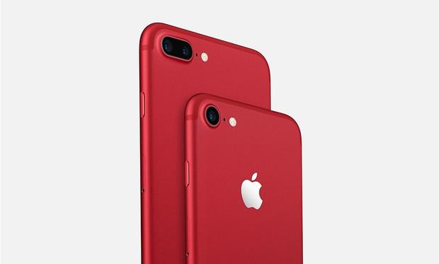 Apple представила красные iPhone 7 и обновленный iPad