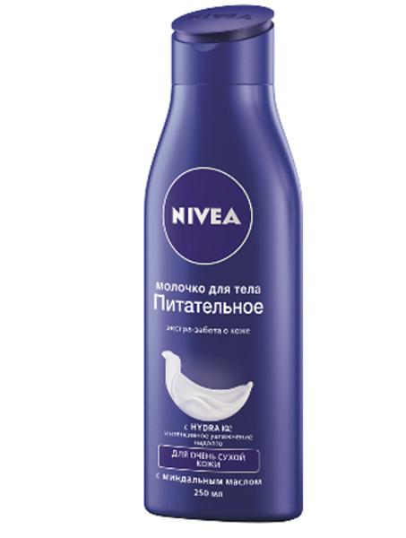 Молочко для тела «Питательное», Nivea