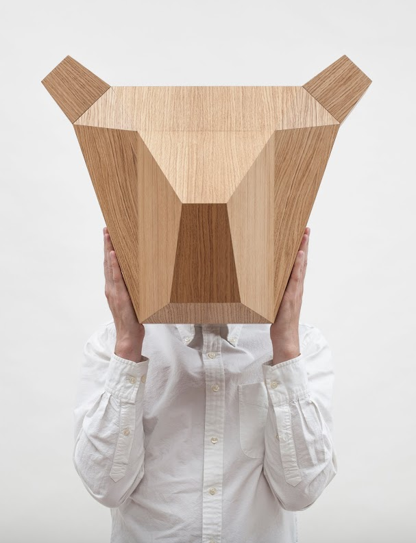Wooden Bear Head Александр Каныгин