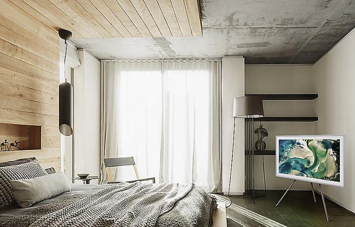Телевизор - картина Samsung The Frame — искусство в интерьере фото [19]