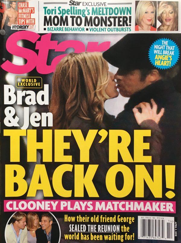 СМИ: Брэд Питт и Дженнифер Энистон снова вместе (фото 7)