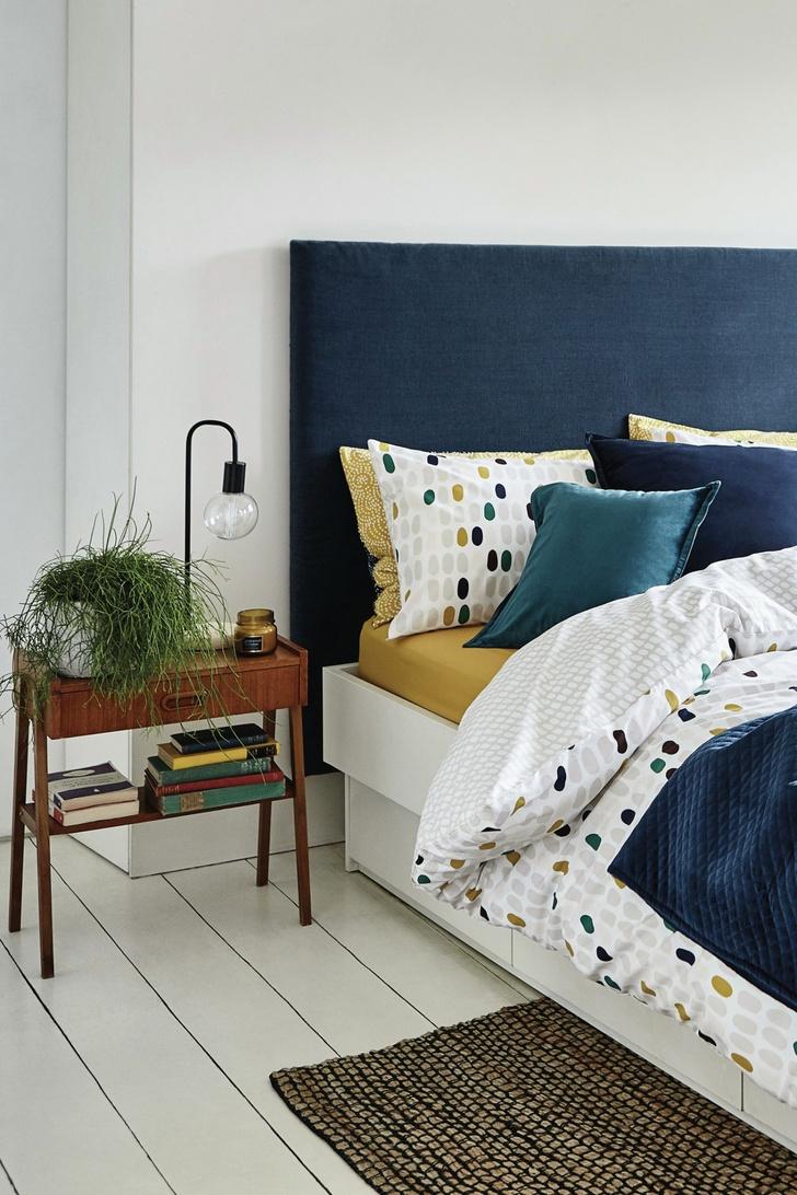 7 «лайфхаков» для маленькой спальни (фото 20)
