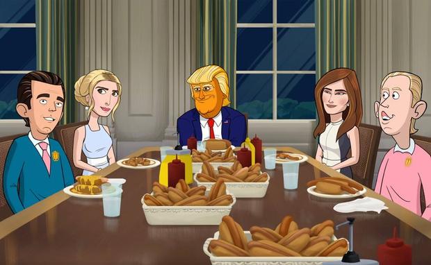В США вышел мультфильм про Дональда Трампа (фото 1)