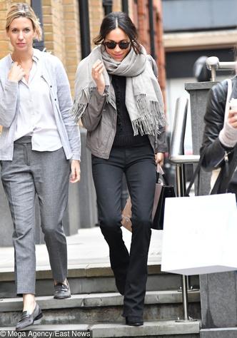 Скоро свадьба: Меган Маркл переехала в Лондон (фото 3)