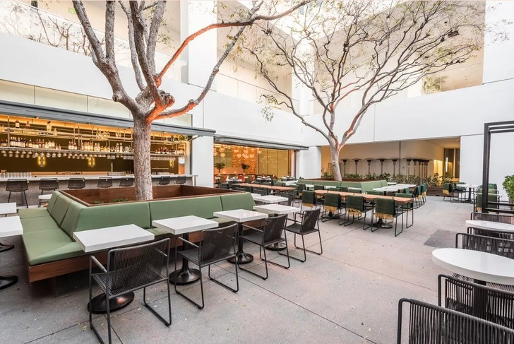 Ресторан Audrey при Музее Хаммера (фото 2)