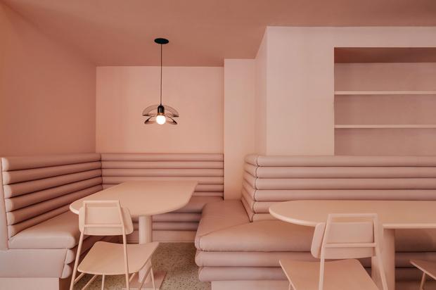 Яркий проект Pastel Rita в Монреале от студии Appareil Architecture (фото 4)