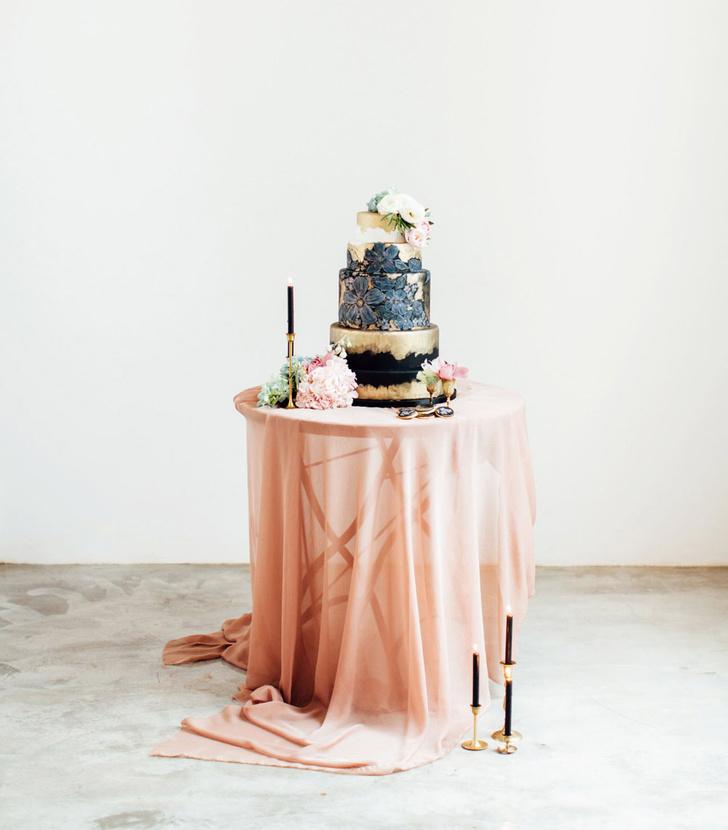 Самые модные свадебные торты