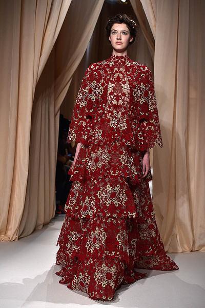 Показ Valentino Haute Couture   галерея [1] фото [4]