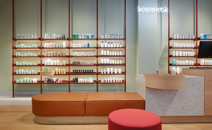 Берлинская аптека в стиле ретрофутуризма (фото 0)