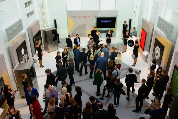 Открытие «Российской недели искусства LG SIGNATURE в ММОМА» (фото 2)