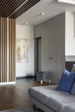 Современная квартира для холостяка 80 м² в Екатеринбурге (фото 1)