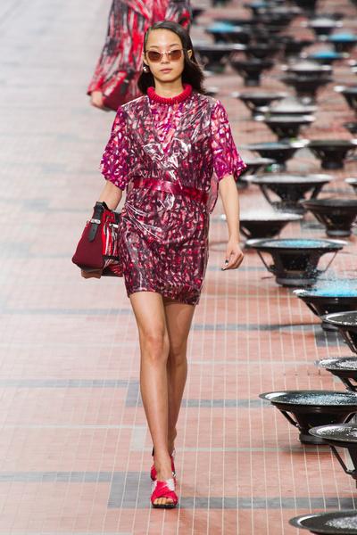 Kenzo на Неделе моды в Париже