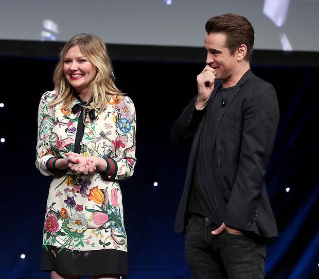 Кирстен Данст рассказала о съемках постельной сцены с Колином Фарреллом