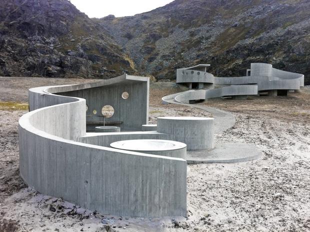 Здание из бетона фотосессия бетон