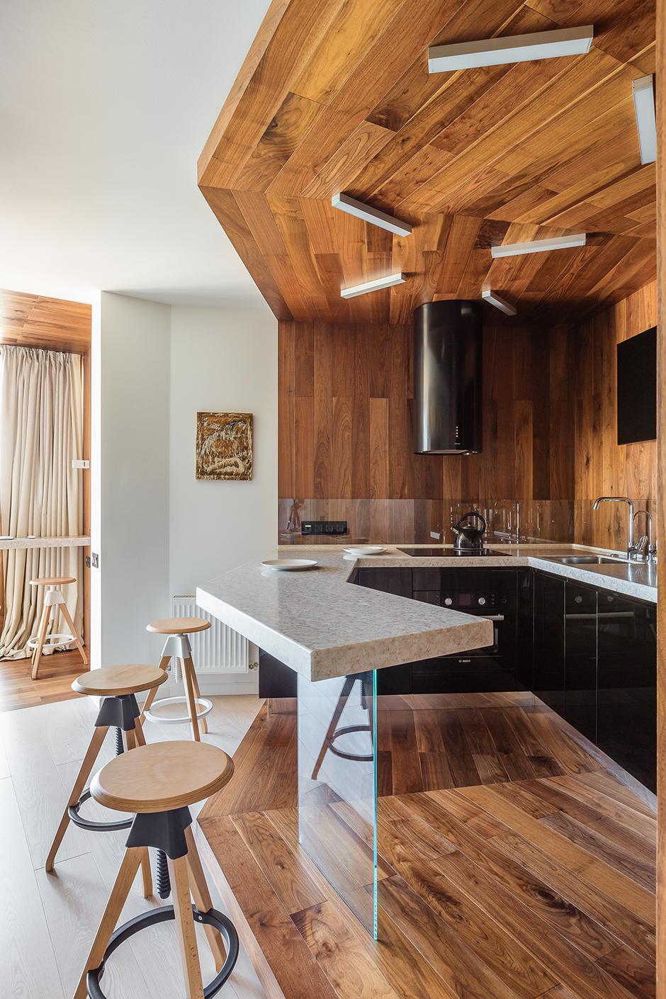 Деревянные кухни (галерея 0, фото 2)