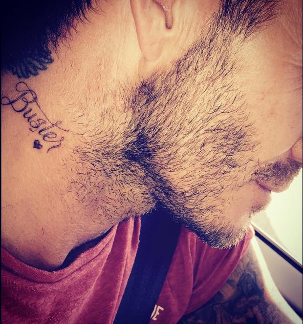 Новая татуировка Дэвида Бекхэма в честь сына: фото 2015