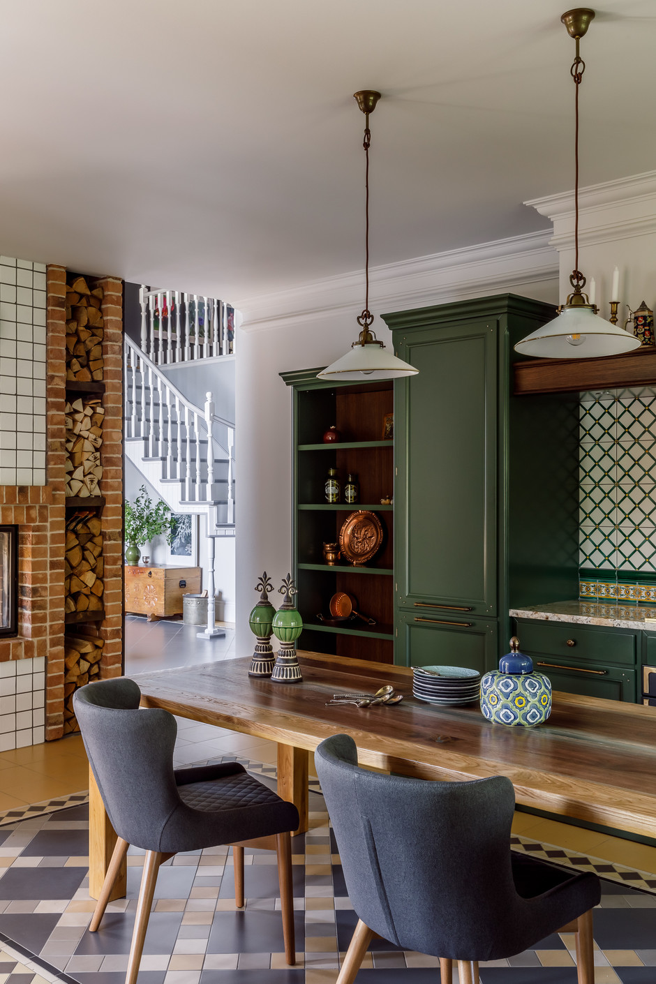 Кухни на даче: 25 интерьеров (галерея 0, фото 4)