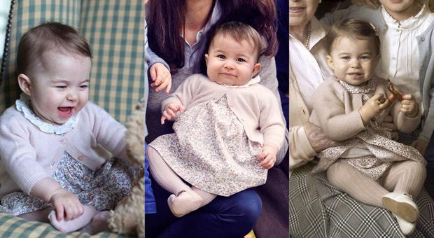 Принцесса Шарлотта ноябрь 2015 / декабрь 2015 / апрель 2016