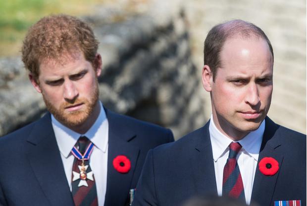 Принцы Гарри и Уильям фото