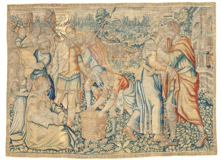 Шпалеры XVI-XVII веков на выставке в Москве (фото 9)
