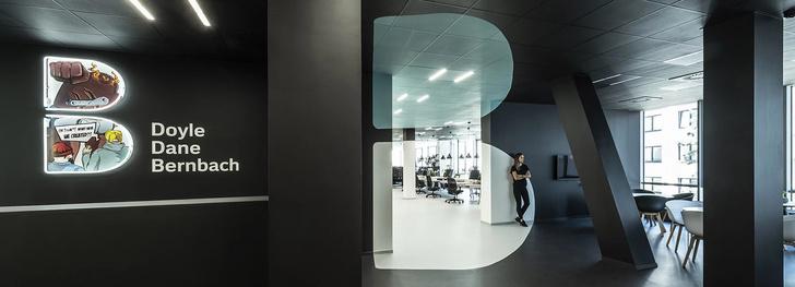 Офисное пространство с оптическими иллюзиями от B2 Architecture (фото 0)
