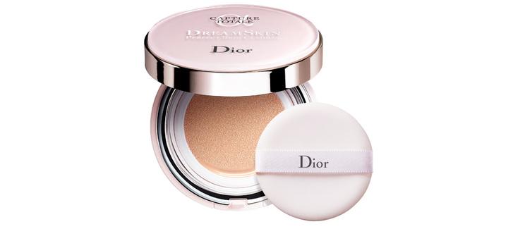 Антивозрастной кушон Dreamskin Perfect Skin Cushion SPF 50 PA +++ от Dior новое тональное средство