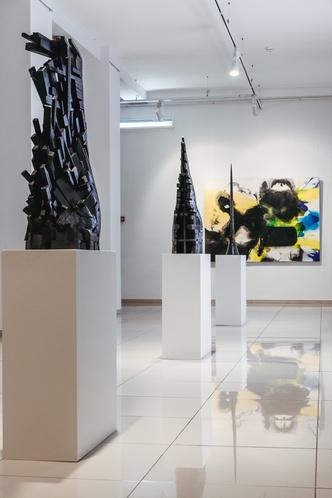 Форма & Цвет: выставка Валерия Пчелина и Игоря Михайленко (фото 17)