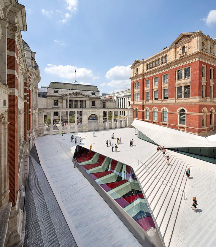 Реконструкция Музея Виктории и Альберта