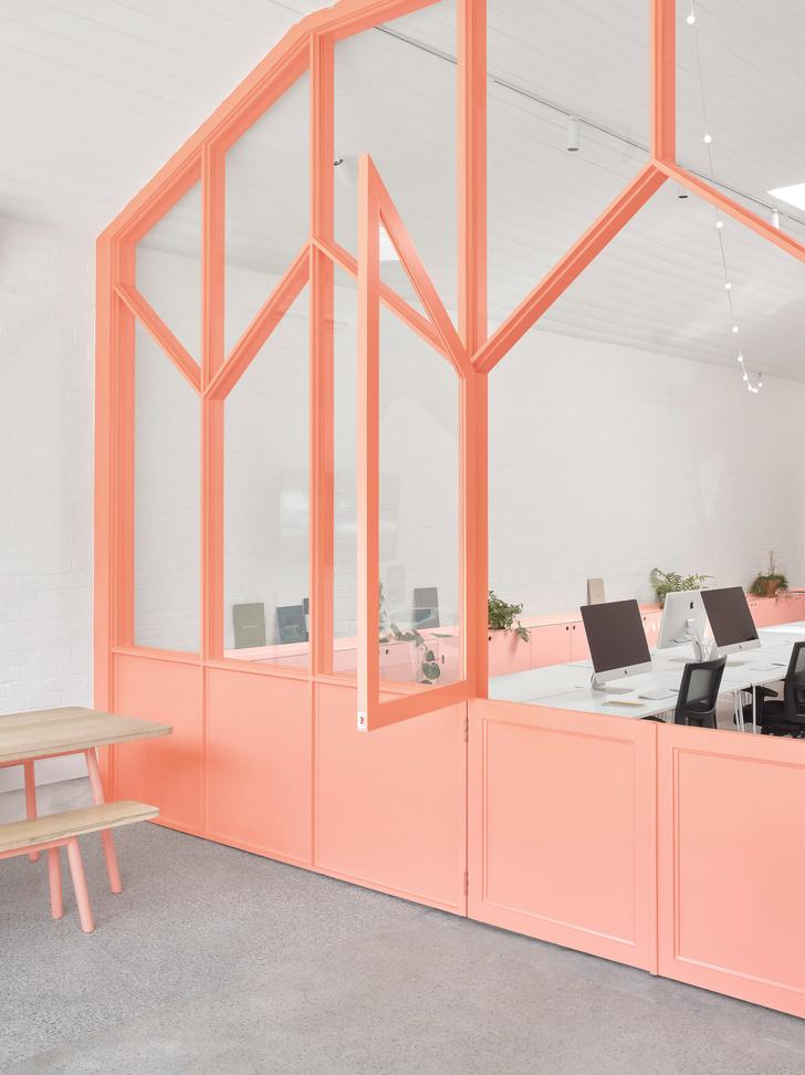 Розовые грезы: яркий офис в Мельбурне (фото 6)
