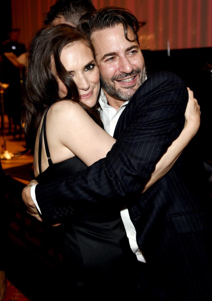 Марк Джейкобс и Вайнона Райдер, 2015 год
