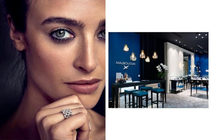В Москве открылся второй бутик французского ювелирного бренда Mauboussin (фото 1)