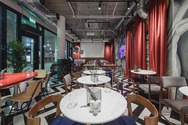 Ресторан «Кастинг» в кинотеатре «Октябрь» от студии MAST (фото 7)