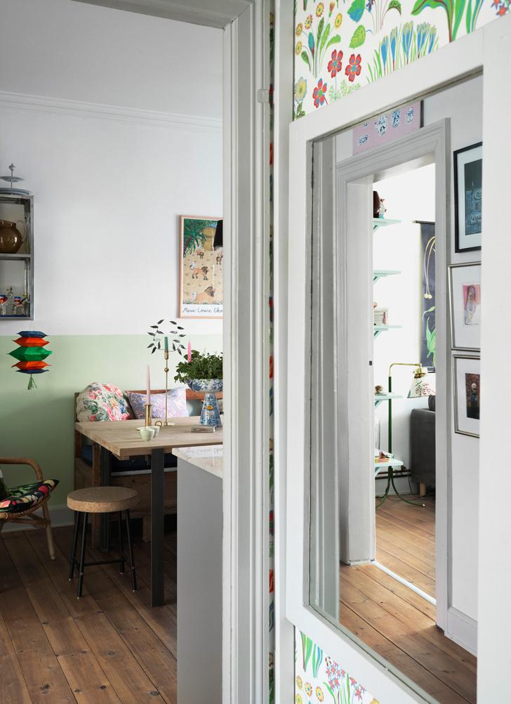 Яркая квартира для творческой пары в Копенгагене (фото 14)